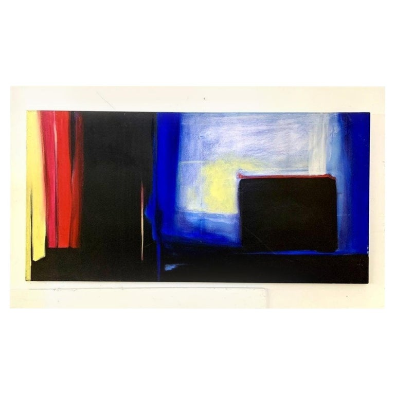 "Oil on Canvas by Marlene Burns ""Loose Change"", c.1996 For Sale"