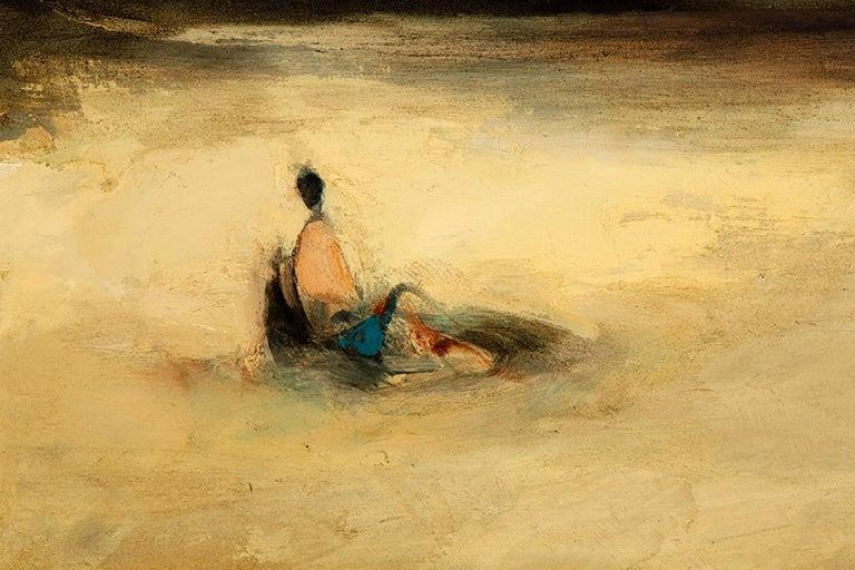 Spanish Oil on Canvas, Martínez Novillo, Cirilo 'Madrid, 1921-2008' For Sale