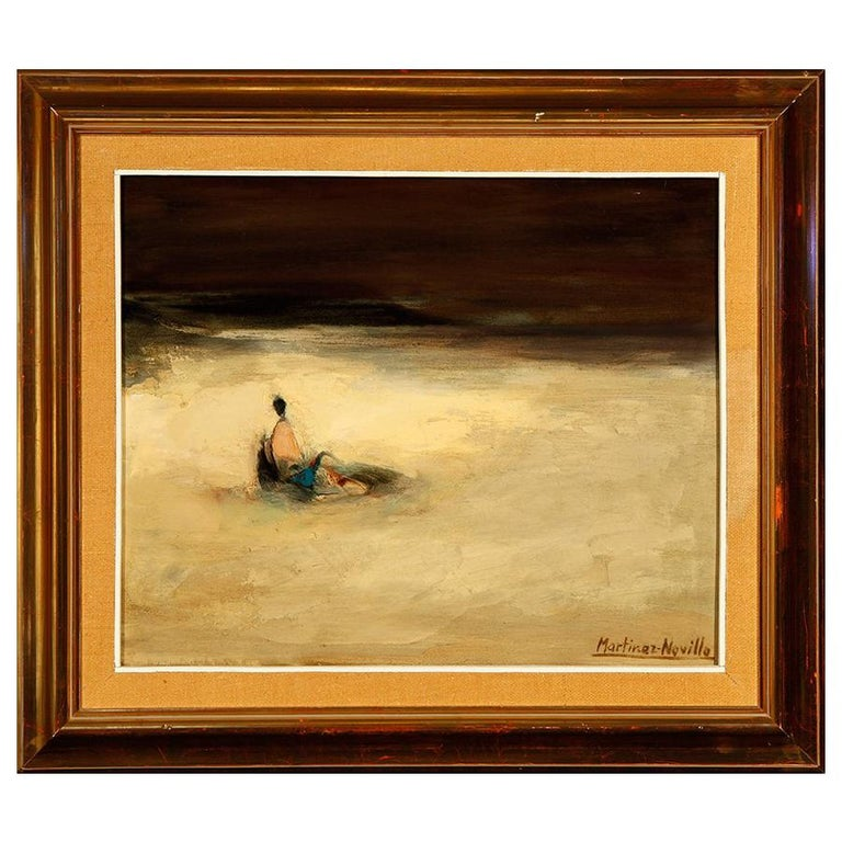 Oil on Canvas, Martínez Novillo, Cirilo 'Madrid, 1921-2008' For Sale