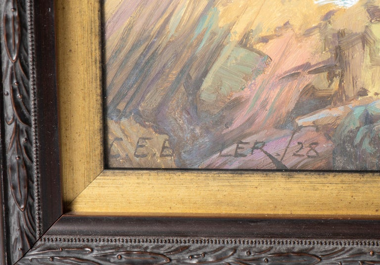 British Oil on Canvas Painting by Charles Ernest Butler, England, circa 1900 For Sale