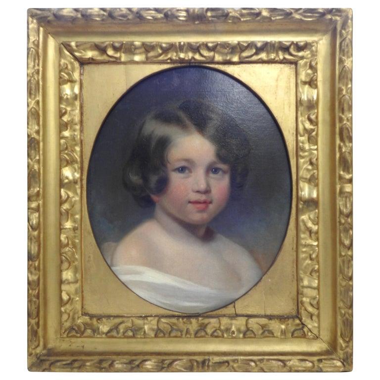Oil on Canvas, Portrait of Sewanee Student For Sale