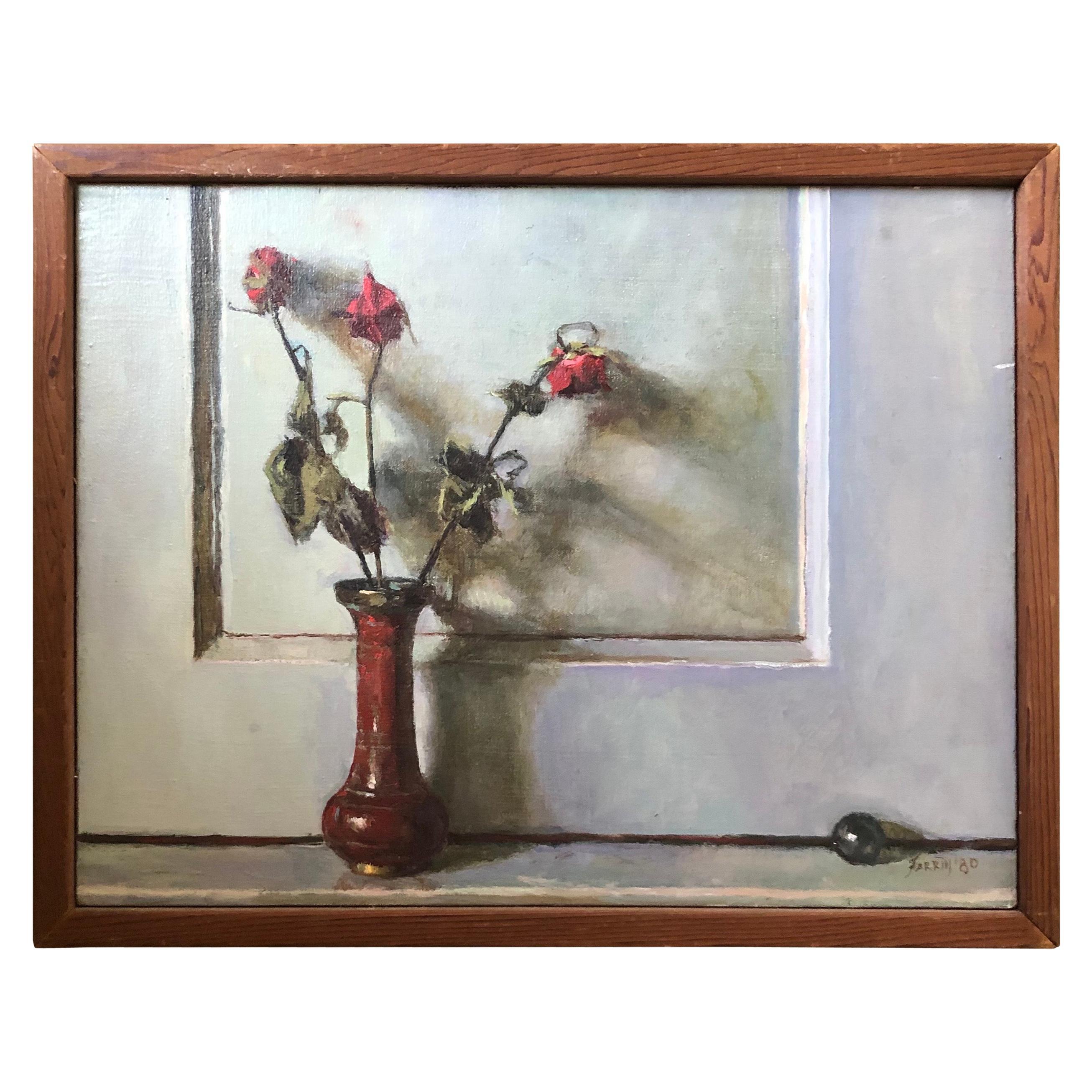 Oil on Canvas Still Life Painting by Listed Artist Doug Ferrin