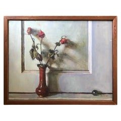 Oil on Canvas Still Life Painting by Listed Artist Doug Ferrin