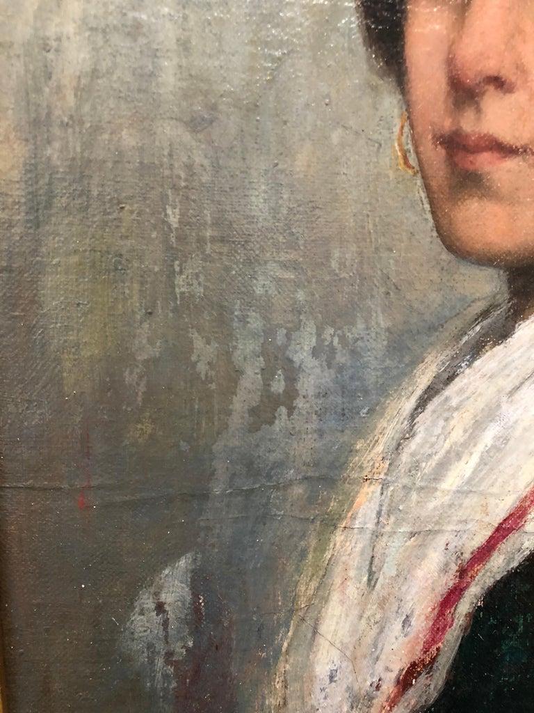 Italian Oil Painting by Albert Grantley Reinhart, 1882