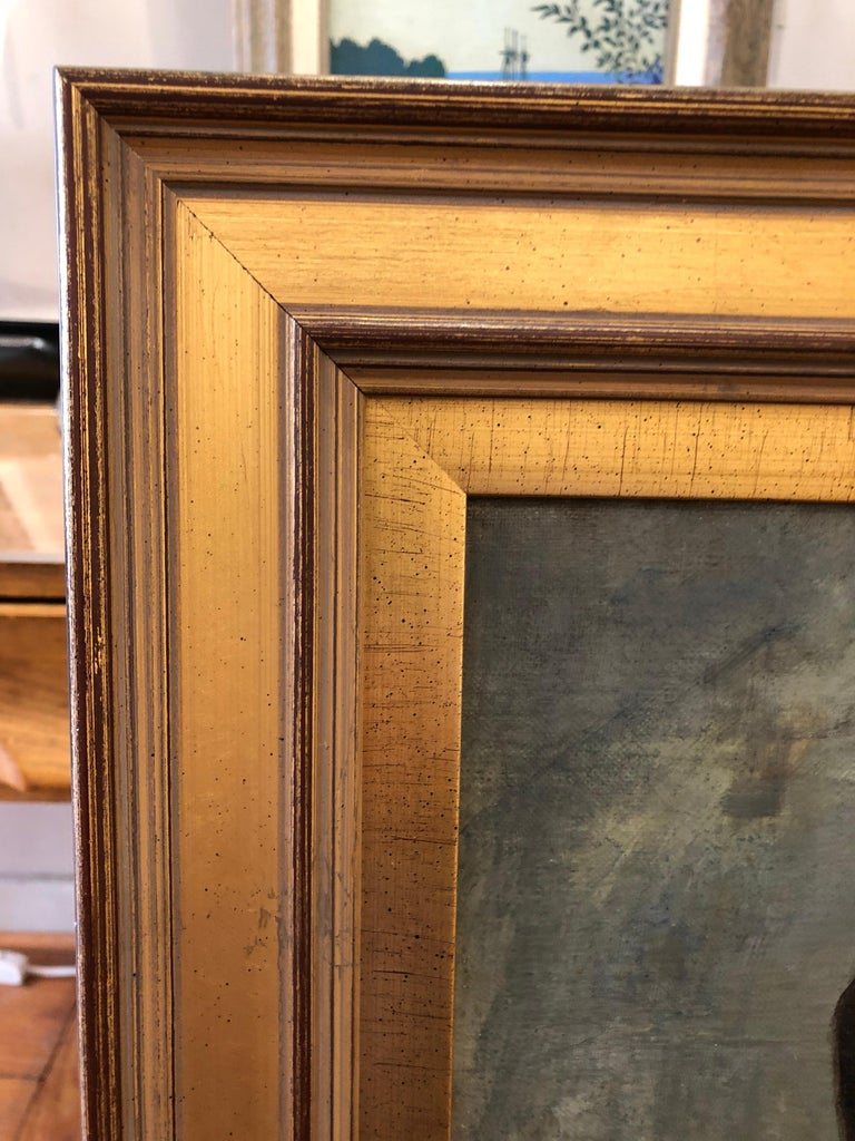 Oil Painting by Albert Grantley Reinhart, 1882 In Good Condition In Doylestown, PA