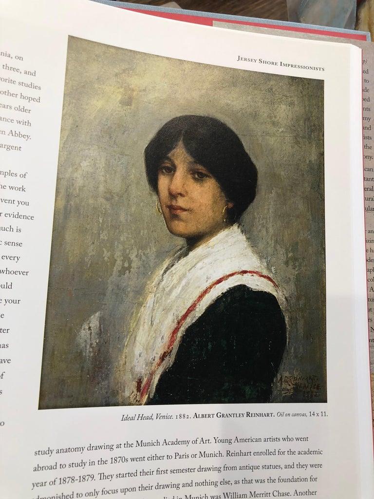 Oil Painting by Albert Grantley Reinhart, 1882 1