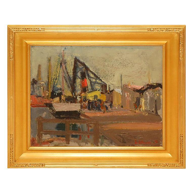 Oil Painting by Ernst Rasmussen