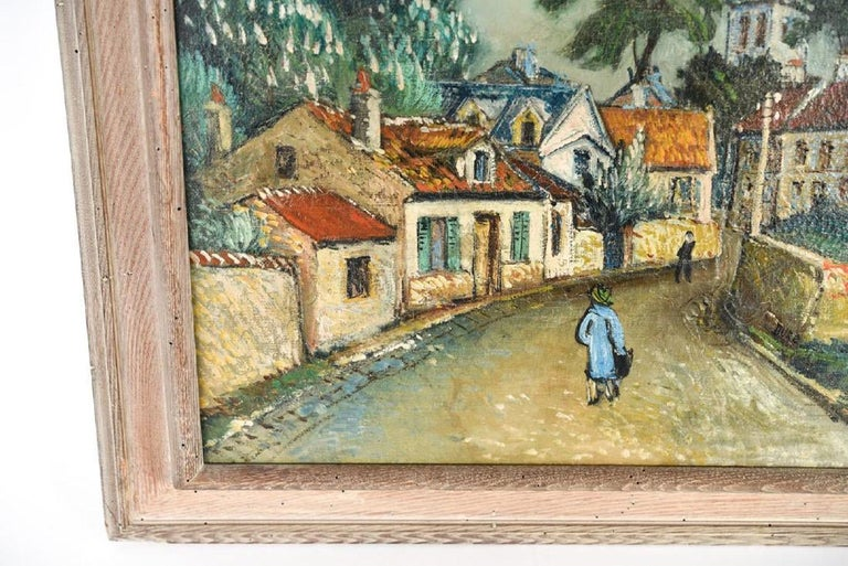 Modern Oil Painting by George Brainerd Burr, American, 1876-1939 For Sale