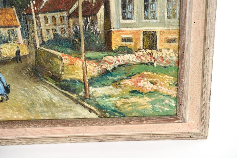 Hand-Painted Oil Painting by George Brainerd Burr, American, 1876-1939 For Sale