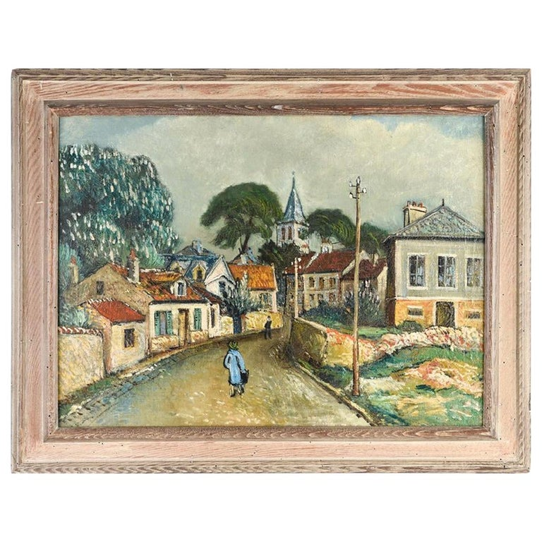 Oil Painting by George Brainerd Burr, American, 1876-1939 For Sale