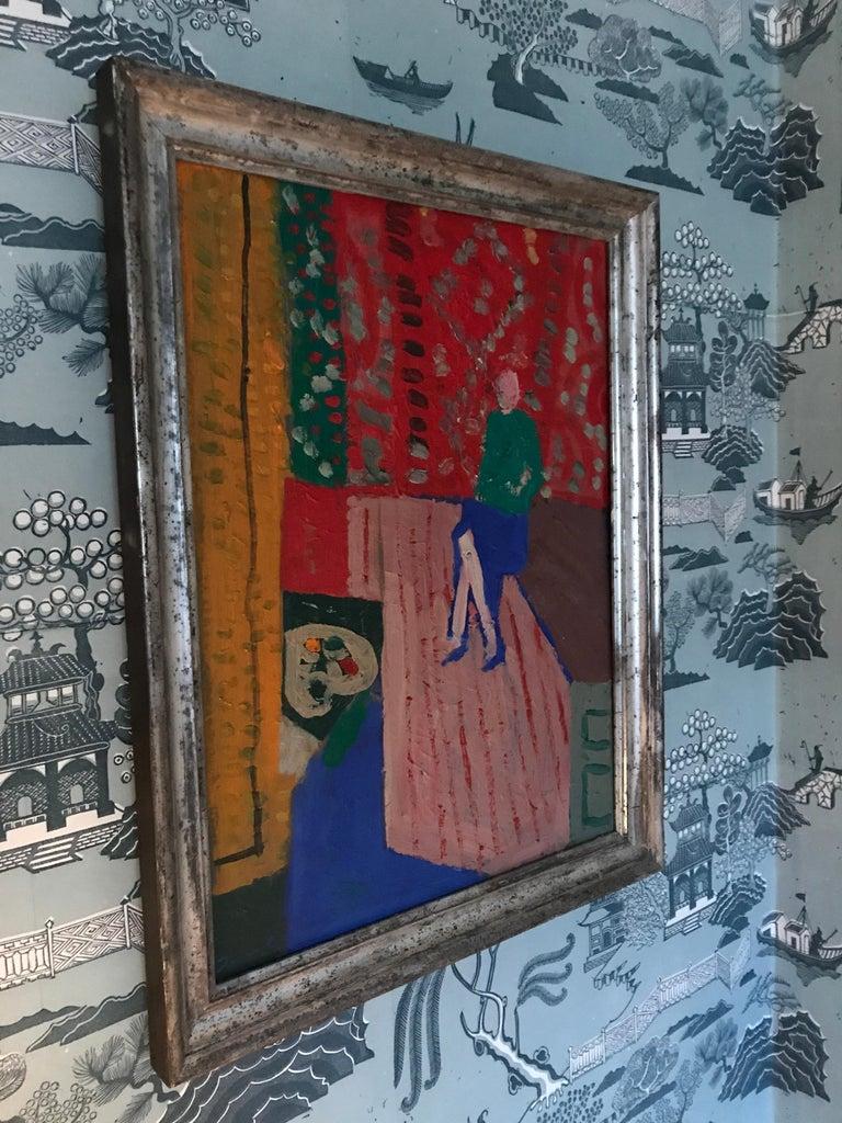 Danish Oil Painting by Johannes Carstensen For Sale