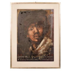 "Oil Painting by Lutz Friedel ""Even as a Young Rembrandt"" from 2008"