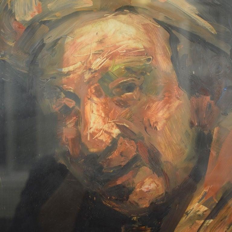 German Oil Painting by Lutz Friedel