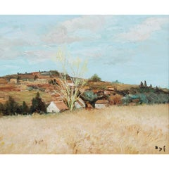 Oil Painting by Marcel Dyf