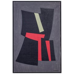 Oil Painting by Tore Nyberg, Sweden, 1957