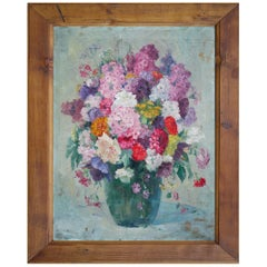 Oil Painting, Floral Composition, Anna Gumlich-Kempf, 1910s