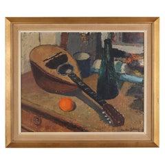 Oil Painting Herdis Gelardi