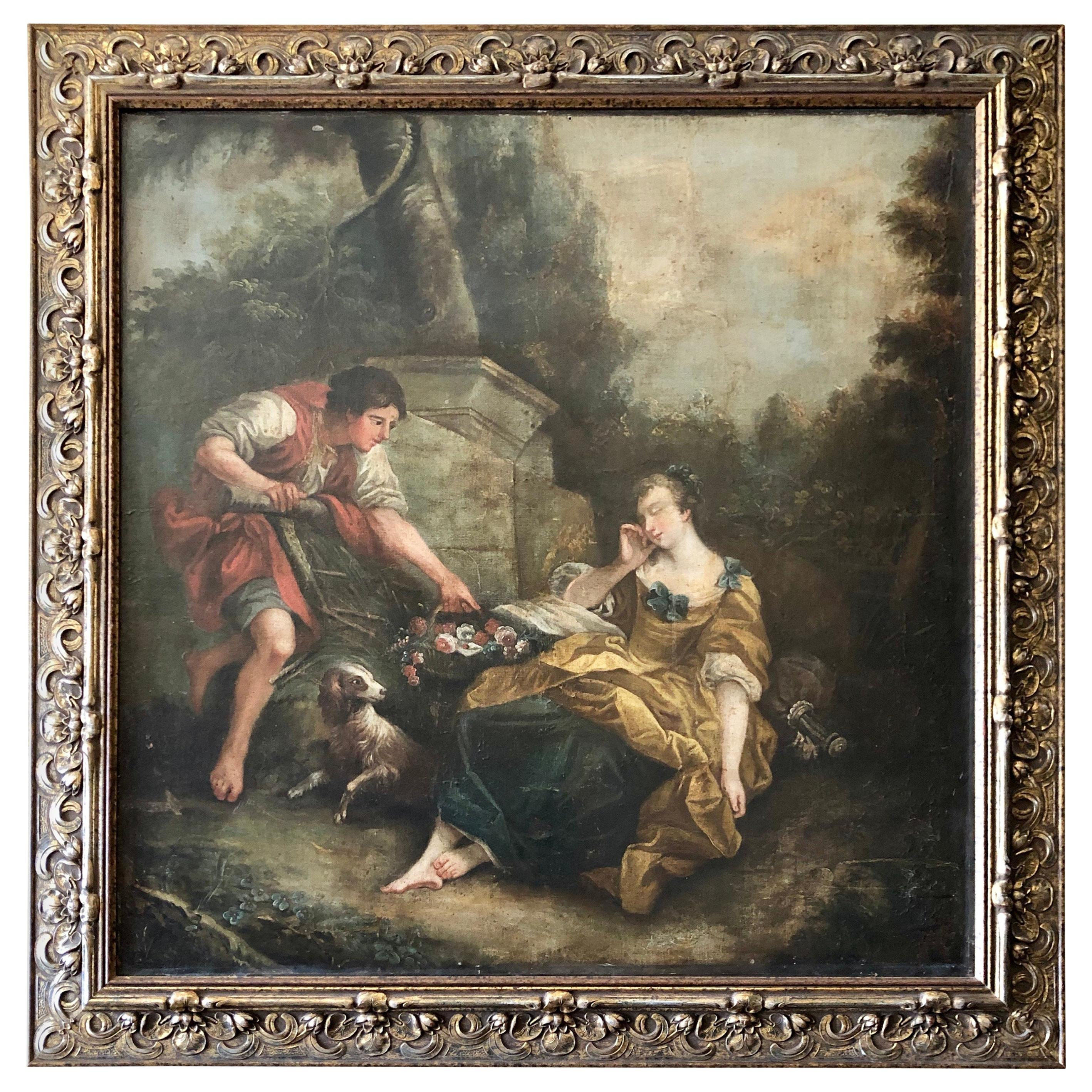 Oil Painting in the Style of Francois Boucher