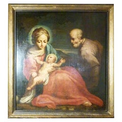 Oil Painting, Late 17th Century, Attributed to Giuseppe Gambarini, Italy