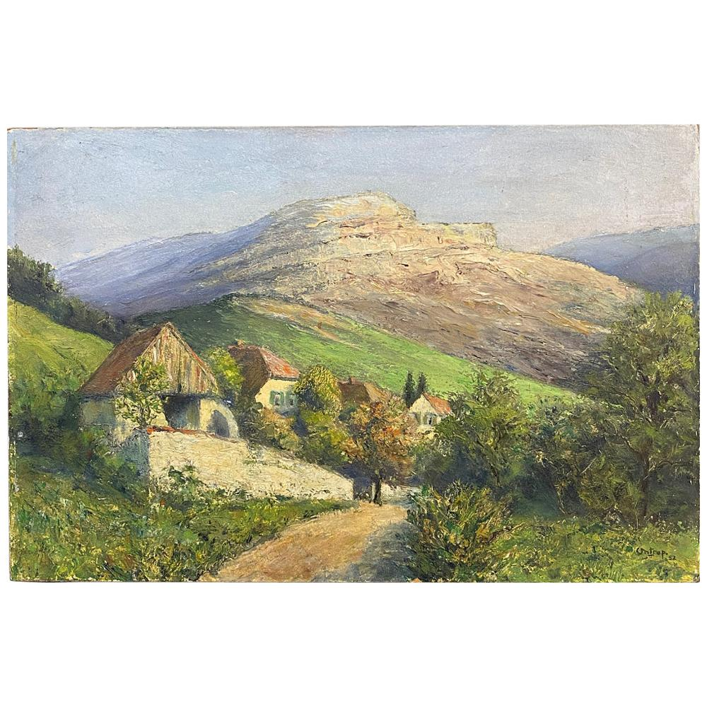 Oil Painting on Board by H. G. Ontrop