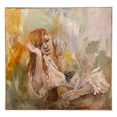Oil Painting on Board by Jaqui Von Honts