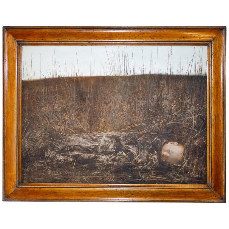 Oil Painting on Canvas by Igor Melnikov 'Dream Of Pilgrim' For Sale