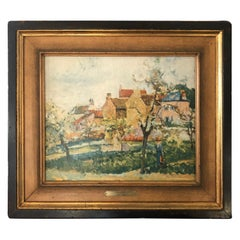 Oil Painting on Canvas Hand Painted Reproduction of Pissarro's Painting