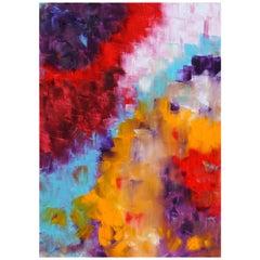 """Oil Painting on Canvas Title """"Dans Les Coleurs"""", 2009"""