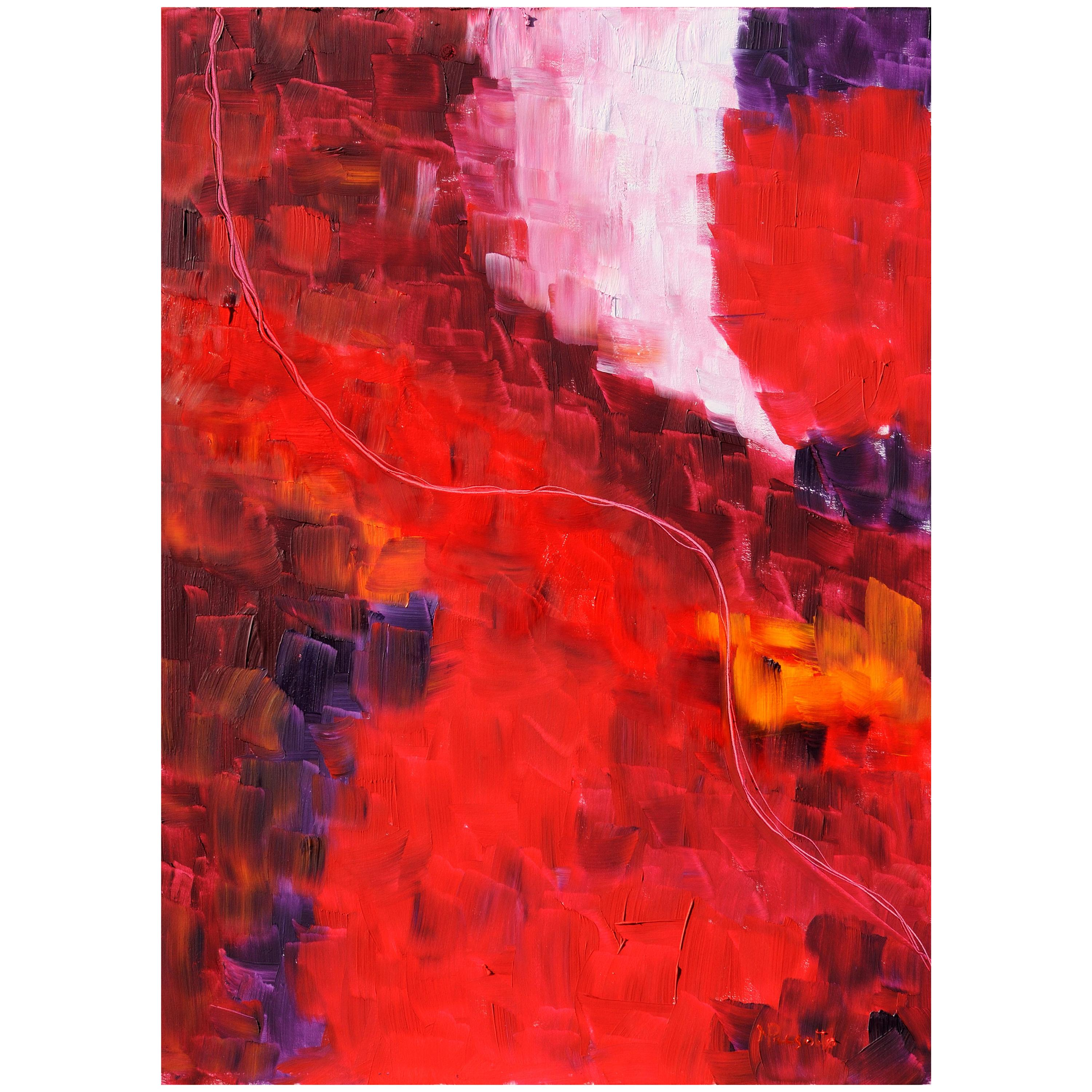 """Oil Painting on Canvas Title """"Fil Rouge"""", 2009"""