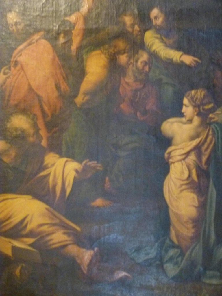 Spanish The Transfiguration by Raphael. Oil painting Reproduction. For Sale