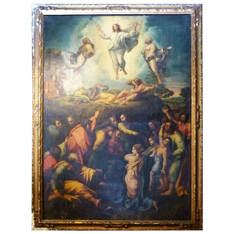 The Transfiguration by Raphael. Oil painting Reproduction. For Sale