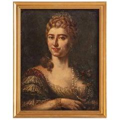 Oil Portrait of a Lady