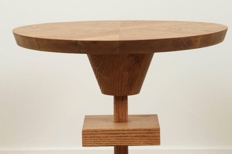 American Oiled Oak Morro Table by Lawson-Fenning For Sale