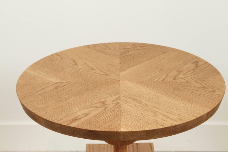 Oiled Oak Morro Table by Lawson-Fenning For Sale 2