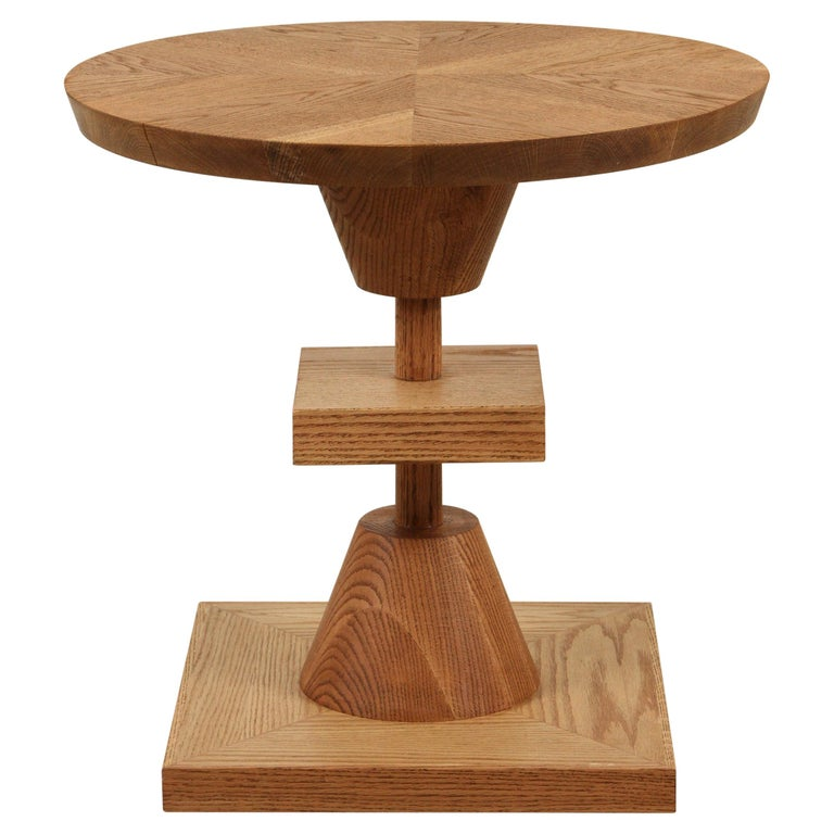 Oiled Oak Morro Table by Lawson-Fenning For Sale