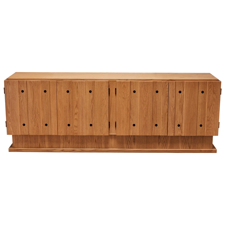 Oiled Oak Ojai Cabinet by Lawson-Fenning