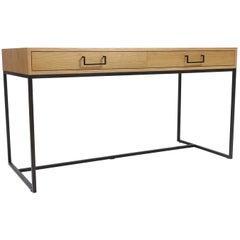 Oiled Oak Thin Frame Desk by Lawson-Fenning