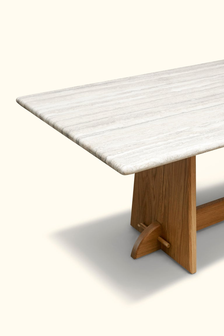 Ojai Dining Table by Lawson-Fenning In New Condition For Sale In Los Angeles, CA