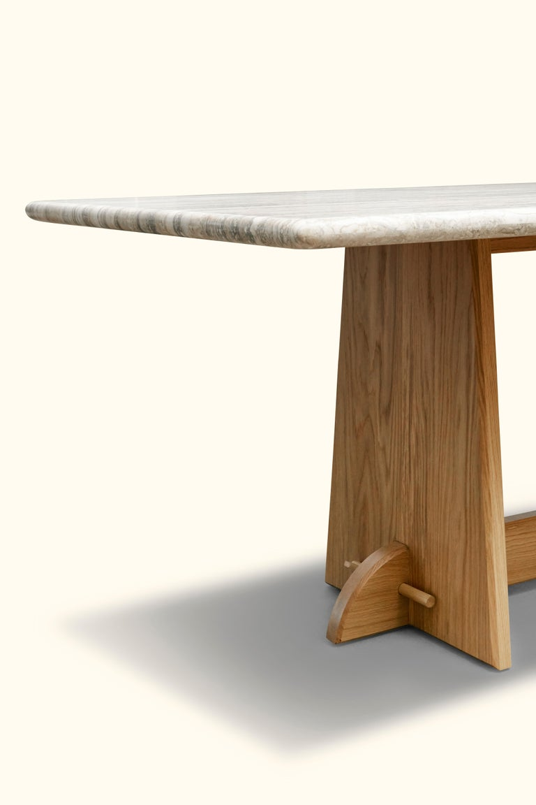 Contemporary Ojai Dining Table by Lawson-Fenning For Sale