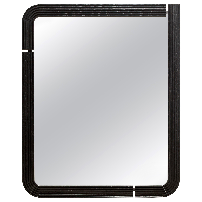 Ebonized Oak Ojai Mirror by Lawson-Fenning