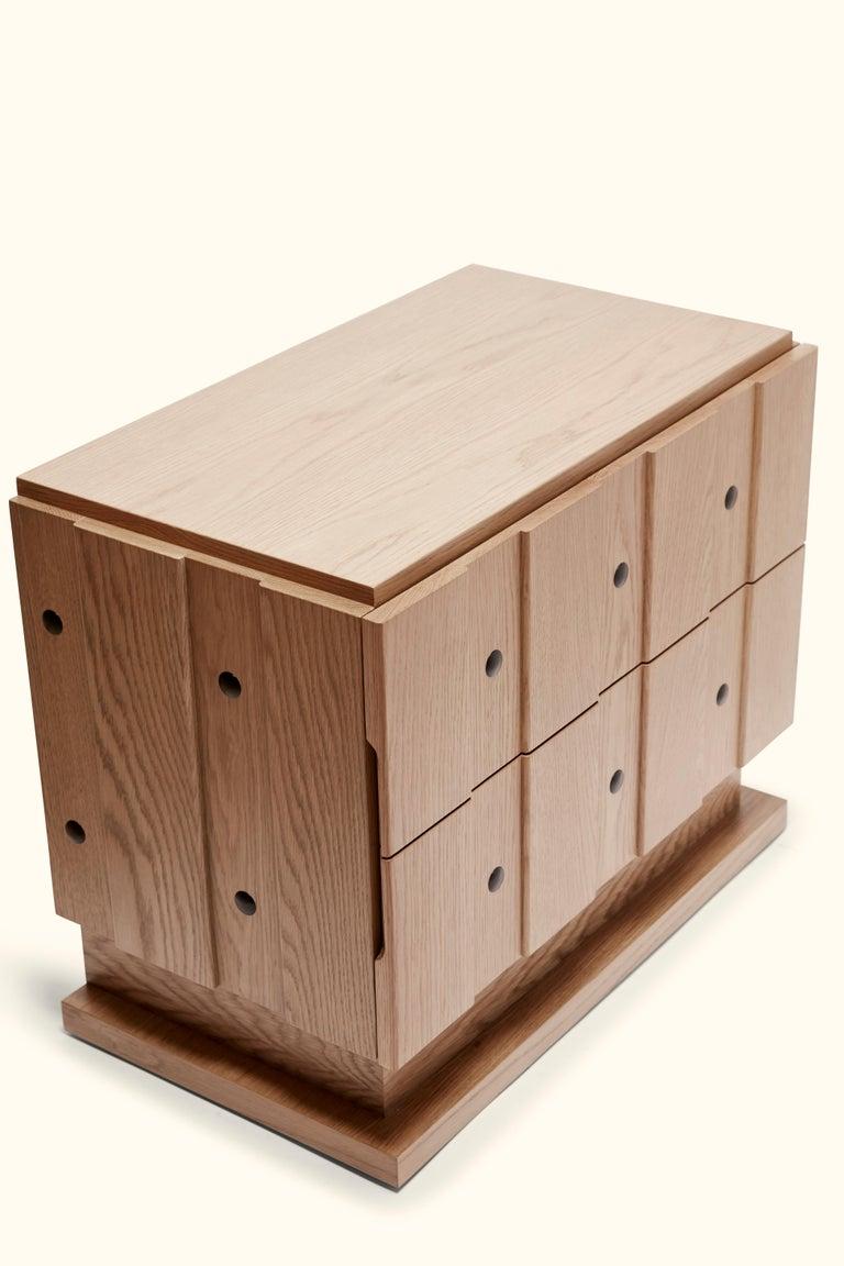 Oak Ojai Nightstand by Lawson-Fenning For Sale
