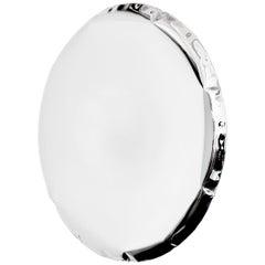 Oko 95 Mirror in Polished Stainless Steel by Zieta