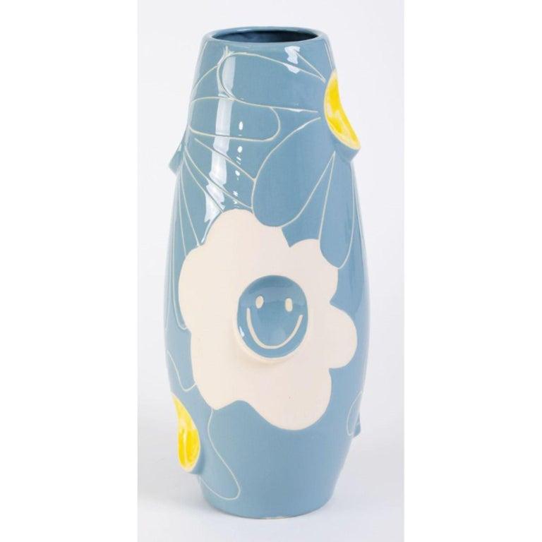 Contemporary Oko Pop Ceramic Vase by Malwina Konopacka For Sale