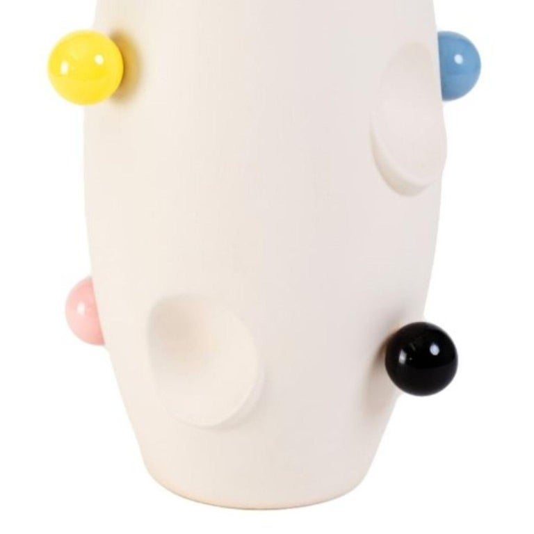 Polish Oko Pop Ceramic Vase, Circus by Malwina Konopacka For Sale