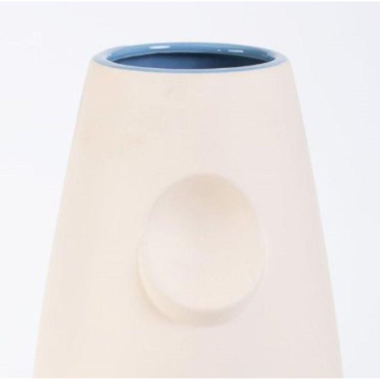 Polish Oko Pop Ceramic Vase, Mushroom by Malwina Konopacka For Sale