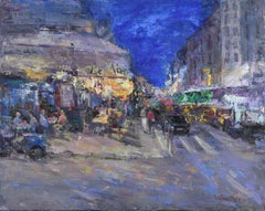 Evening on Montmartre, Oil Painting