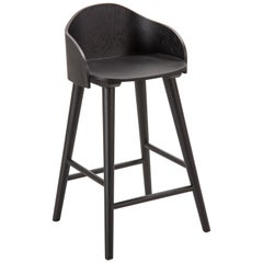 Ola Stool, Black Oak