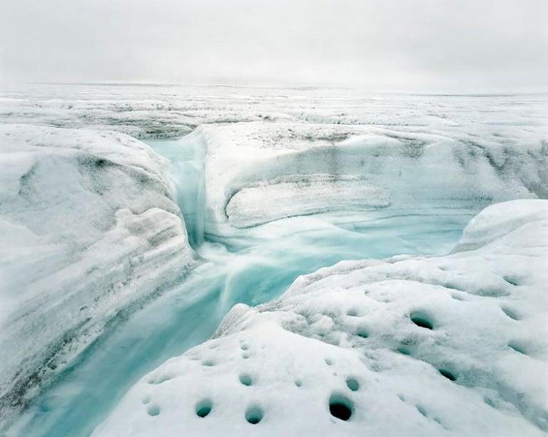 Above Zero, River 2, 07, 2008, Position 1 - Olaf Otto Becker  - Photograph by Olaf Otto Becker