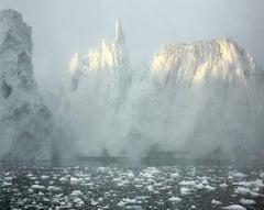 "Ilulissat Icefjord 6, 07/2003 69° 11'58"" N, 51° 07'08"" W - Olaf Otto Becker"