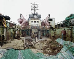 Russian Fishing Trawler, 2002 - Olaf Otto Becker (Landscape Colour Photography)